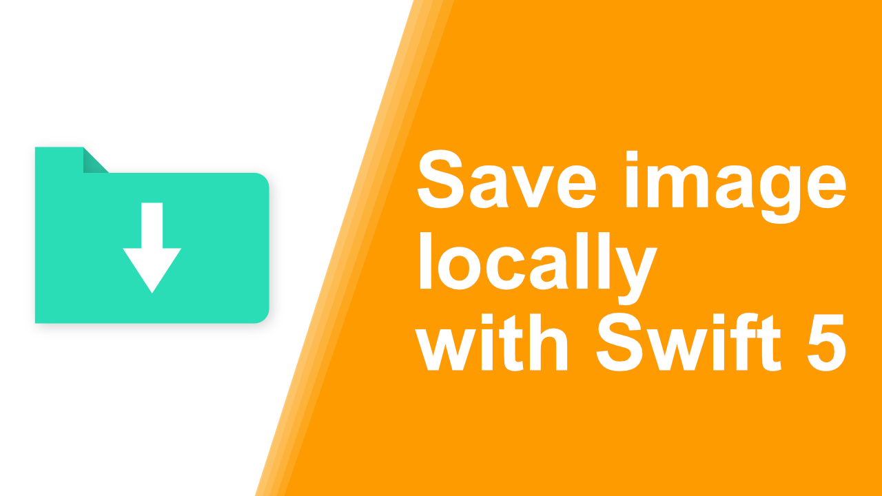 Save Images Locally with Swift 5 · Programming with Swift